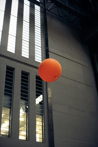 Poolga - Orange Balloon - Thom Stoodley