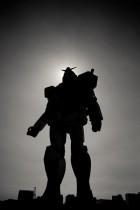 Gundam by Debbie Martin